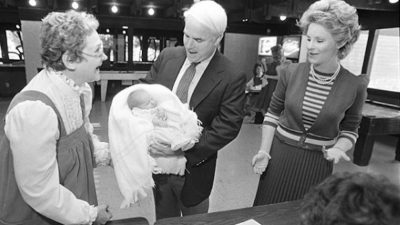 her-dad-was-taking-her-to-polls-at-15-days-old-Senator McCains & Daughter Meghan a befitting daughter-father letter family business consultants oumamuga.com